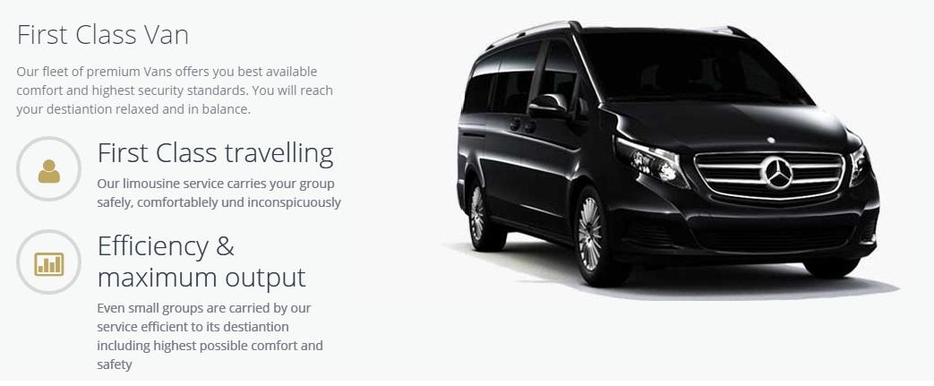 Mercedes Vito Viano Minivan Minibus transfer